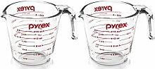 Pyrex Prepware 2-Cup Glass Measuring Cup, Clear
