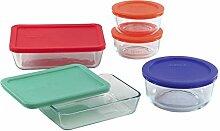 Pyrex Simply Store Lebensmittel-Set aus Glas mit