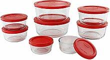 Pyrex Simply Store Lebensmittelbehälter aus Glas