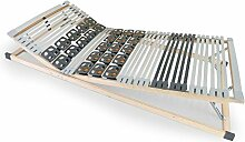 PYRIT Teller-Lattenrost fest und verstellbar, TÜV zertifiziert, 90 x 200 cm, verstellbar
