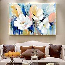 PYROJEWEL Abstrakte Aquarell-Blumen-Malerei-Druck