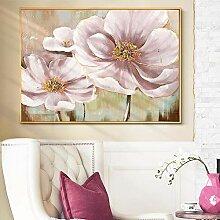 PYROJEWEL Abstrakte Blume Wandkunst Malerei Auf