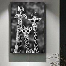 PYROJEWEL Giraffen mit Sonnenbrille Lustige