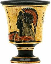 Pythagora-Tasse aus griechischer Keramik mit
