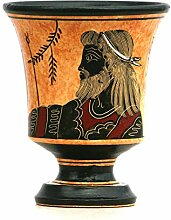 Pythagora-Tasse aus Keramik, griechischer Keramik,