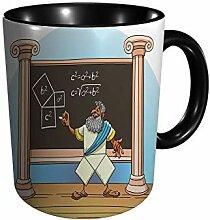 Pythagoras bewies seinen Satz O 11 Gu Division Mug