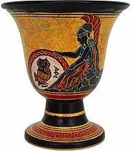 Pythagoras Fair Cup – Göttin Athena handbemalt
