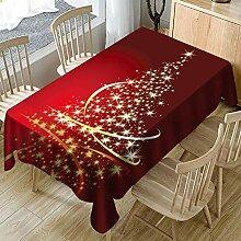 pzmolpq Weihnachten Festliche Tischdecke Drucken