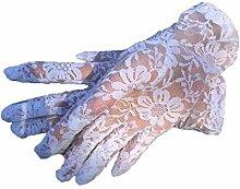 PZXY Handschuh Feder Spitze Reiten Sonnenschutz