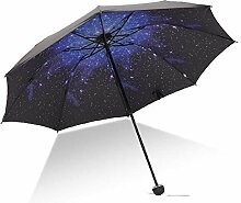 PZXY Regenschirm Mode schwarz Gel Sonnenschutz UV
