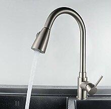 PZXY Wasserhahn Alle Kupfer-Küche Waschbecken