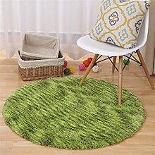 Q Einfache moderne Haus Runde Teppich Wohnzimmer Kaffeetisch Schlafzimmer Teppiche Computer Stuhl Matten ( Farbe : #4 , größe : 140cm )