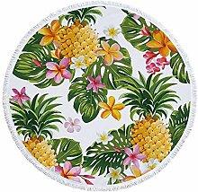 QAQB Ananasfrucht Bedruckt 150Cm Quaste