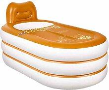 QARYYQ Aufblasbare badewanne für Erwachsene
