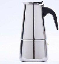 QARYYQ Mokka-Kaffeekanne Aus Edelstahl, Gekochtes