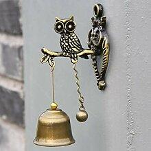 QARYYQ Retro nostalgische Shop Türklingel Glocke