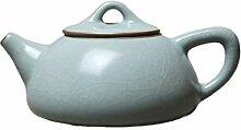 QARYYQ Stone Scoop Pot 汝 Ofen-Teekanne
