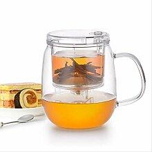 QARYYQ Tee-Set, Elegante Tasse Im Split-Stil,