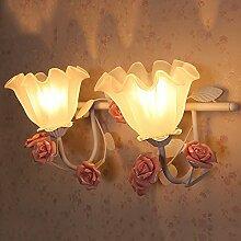 QARYYQ Wandlampe Hauptschlafzimmergarten