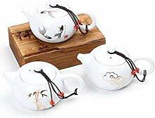 QARYYQ Xi Shi Gao Bai Ke Kreative Keramik Kung Fu