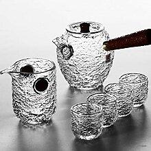 QARYYQ Xiangyun Hammer Hitzebeständiges Glas