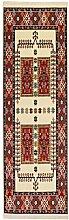 Qashqai creme Persischen Teppichen, Polypropylen, cremefarben, 300X80 CM 9.8X2.6 FT