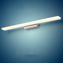 QAZ Badezimmerspiegel Beleuchtung LED-Spiegel,