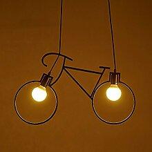 QAZ Fahrrad Kronleuchter/Industrial Wind