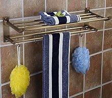 QAZ Handtuchhalter Das Material Wand Bad Ablage