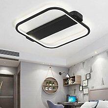 QAZ Moderne LED-Deckenleuchte, Wohnzimmer mit
