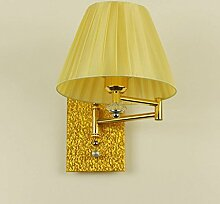 QAZ Wand Lampe E27 Schlafzimmer Kopfteil Licht