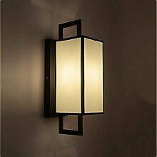 QAZ Wand Lampe Retro Schlafzimmer Nachttischlampe
