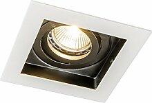 QAZQA Design/Modern Einbaustrahler Carree