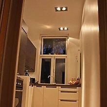 QAZQA Design/Modern Einbaustrahler Oneon 111 2 /