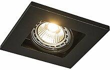 QAZQA Design/Modern Einbaustrahler Qure 1