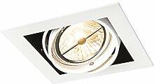 QAZQA Design/Modern Weißer quatratischer