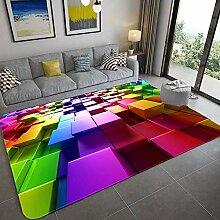 qazwsx 3D-Teppich für optische Täuschungen,