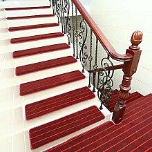 qazwsx Teppich Treppenstufen 15er-Set,