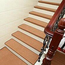 qazwsx Teppich Treppenstufen 15er Set,
