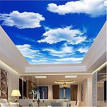 Qbbes Benutzerdefinierte Fototapete Blauer Himmel