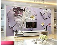 Qbbes Fototapete Benutzerdefinierte Hd 3D Flower