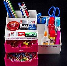 QBBT Multifunktionaler Stifthalter Mode Stifthalter Bürobedarf Storage Box ( farbe : 1 )