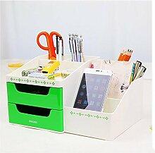 QBBT Multifunktionaler Stifthalter Mode Stifthalter Bürobedarf Storage Box ( farbe : 2 )