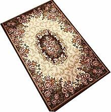 QBL Wohn-Teppich, Retro Fußauflage für