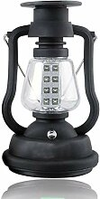 QBLDX LED Retro Petroleumlampe, Campingleuchten