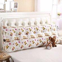 QBPHT Kissen Bett Rückenkissen Bett Für