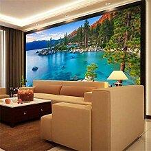 QBTE 3D-Tapete/Wandbild für Schlafzimmer,