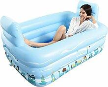 QCRLB Aufblasbare Badewanne, Schwimmbecken für