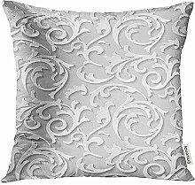 QDAS Kissenbezug Teppichschnitt Barock Damaskus