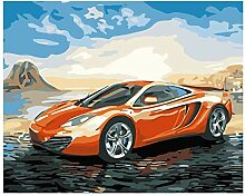 QDENG Farbe Nach Zahlen DIY Ölgemälde DIY Malen